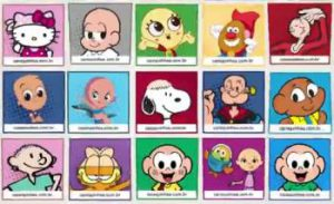 Children's Hair Loss & Bald Cartoon