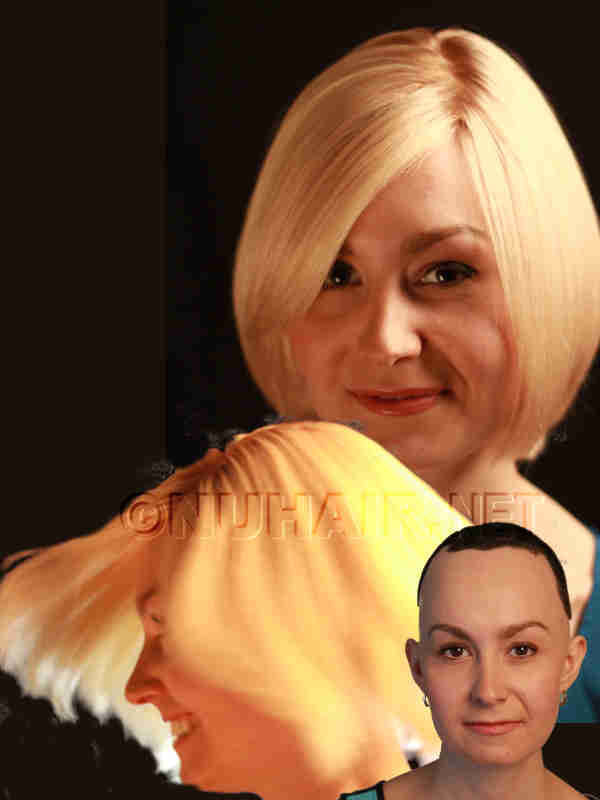 Human Hair Wig Female Hair Loss Wig Dallas DFW TX